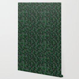Tech Mosaic Green Wallpaper