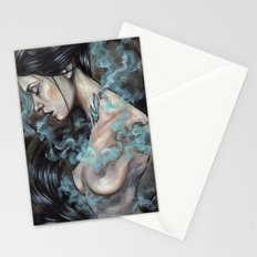Smoked Stationery Cards