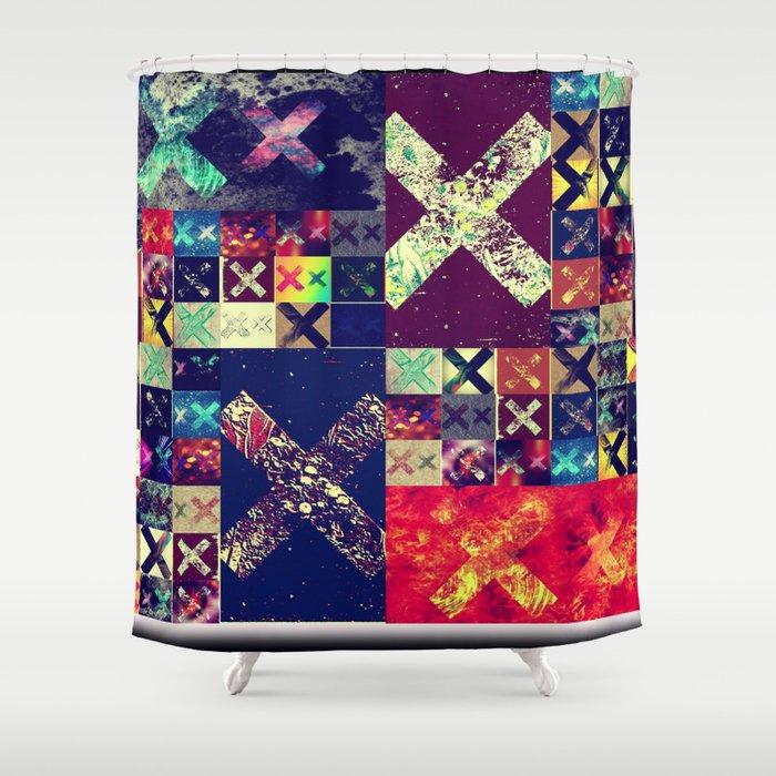 XX (xx) Shower Curtain