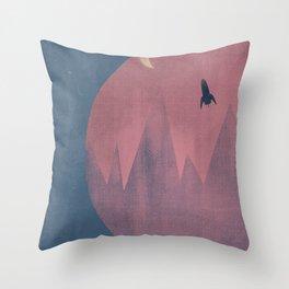 On Voyage Throw Pillow