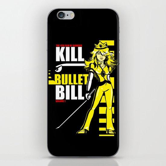 Kill Bullet Bill (Black/Yellow Variant) iPhone & iPod Skin