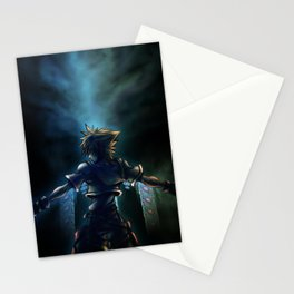 Dive to the heart - dark Stationery Cards