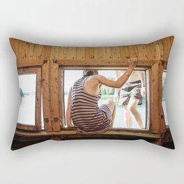 The Dreamers Rectangular Pillow