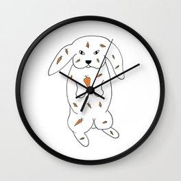 Fooder - Bunnott Wall Clock