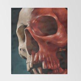 Skull 9 Throw Blanket