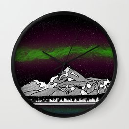 Mount Saint Elias Wall Clock