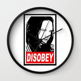 Disobey Davis Wall Clock