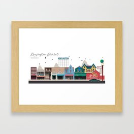 Kensington Market 2 - Toronto Neighbourhood Framed Art Print