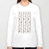 bears Long Sleeve T-shirts featuring Bears. by Elena O'Neill