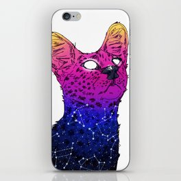 Galaxy Serval iPhone Skin