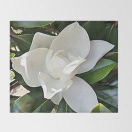 Magnolia 3 Throw Blanket