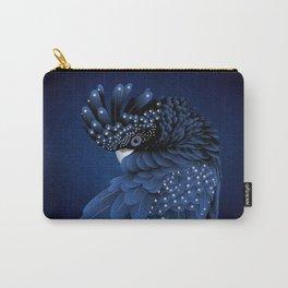 Australian Black Cockatoo Portrait Carry-All Pouch