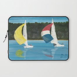 Racing The Wind Laptop Sleeve