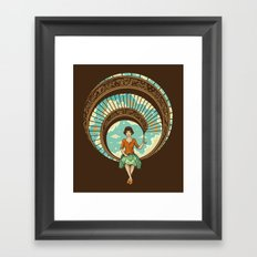 Welcome to My World Framed Art Print