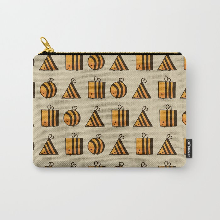 BEE DIFFERENT Carry-All Pouch