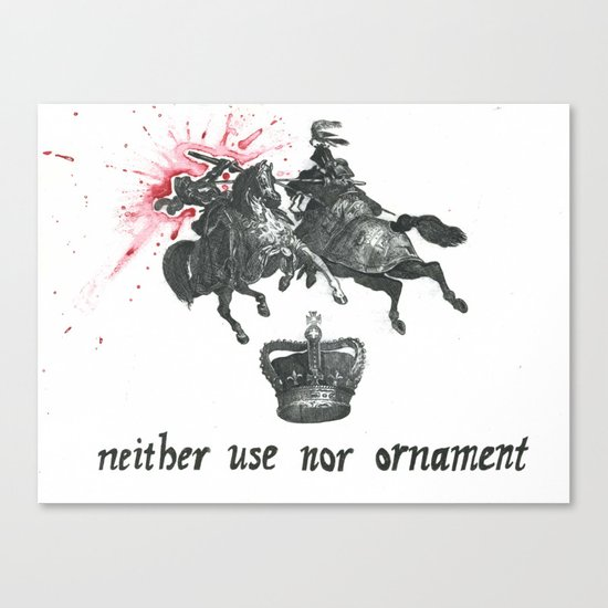 Neither Use Nor Ornament Canvas Print