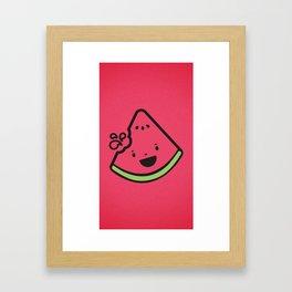WATERMELON! Framed Art Print