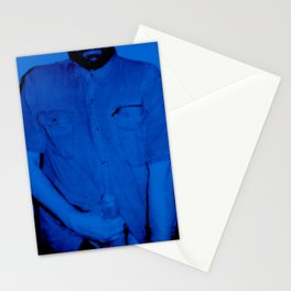 Here I Am-blue Stationery Cards