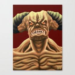 Cyberdemon from DOOM Canvas Print