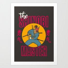 The Shinobi Master Art Print