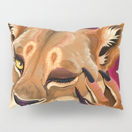 Genetic eyeliner Pillow Sham