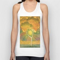 birch Tank Tops featuring Birch 2 by Eugene Frost