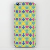 suits iPhone & iPod Skins featuring Suits by M. Noelle Studios