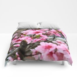 Spring in the city Comforters