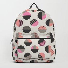 Circles pattern vector illustration Backpack