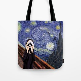 Scream Scary movie Tote Bag