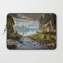 Wildlife Landscape Laptop Sleeve