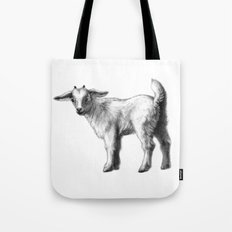 Goat baby G147 Tote Bag