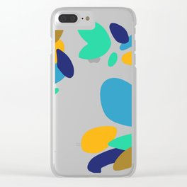 Spotted Theme Clear iPhone Case