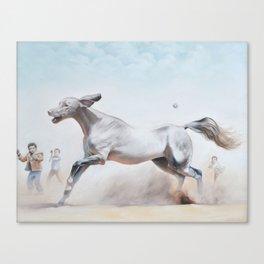 Expulsion of the Unfamiliar Canvas Print
