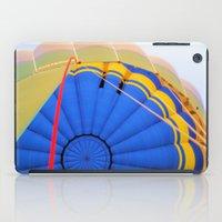 hot air balloon iPad Cases featuring BALLOON LOVE - Hot Air Balloon by Brian Raggatt