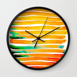 For Africa The Land of Gold Wall Clock