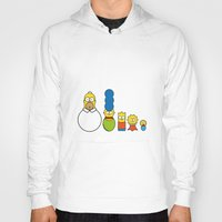 simpsons Hoodies featuring the simpsons family by NHTT