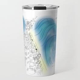 Passover Seder (without text) Travel Mug