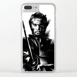 The Samurai Clear iPhone Case