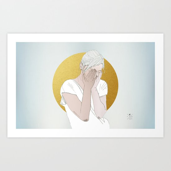 OUR INVENTIONS (Rest Your Head) Art Print
