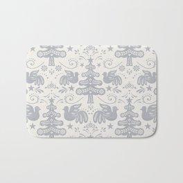 Hygge - Scandinavian Winter (grey) Bath Mat