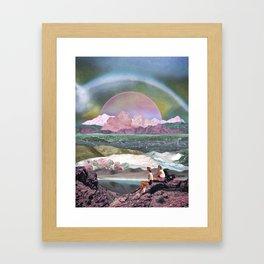Dream afternoon Framed Art Print