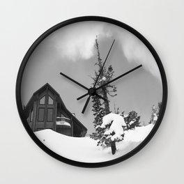 Winter 10 Wall Clock