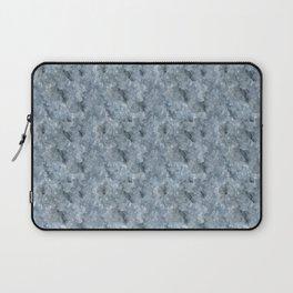 Light Blue Celestite Close-Up Crystal Laptop Sleeve