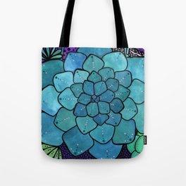 Succulent Sunset Tote Bag