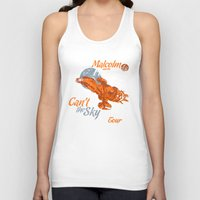 fireflies Tank Tops featuring Malcolm and the Fireflies! by girardin27