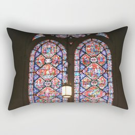 Stained Glass Window Rectangular Pillow