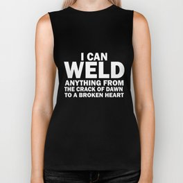I can weld anything welder Biker Tank