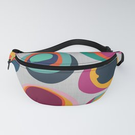 Rainbow Resin Fanny Pack