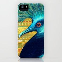 Ira Peacock iPhone Case